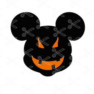 Disney Halloween SVG and DXF Cut File.dxf