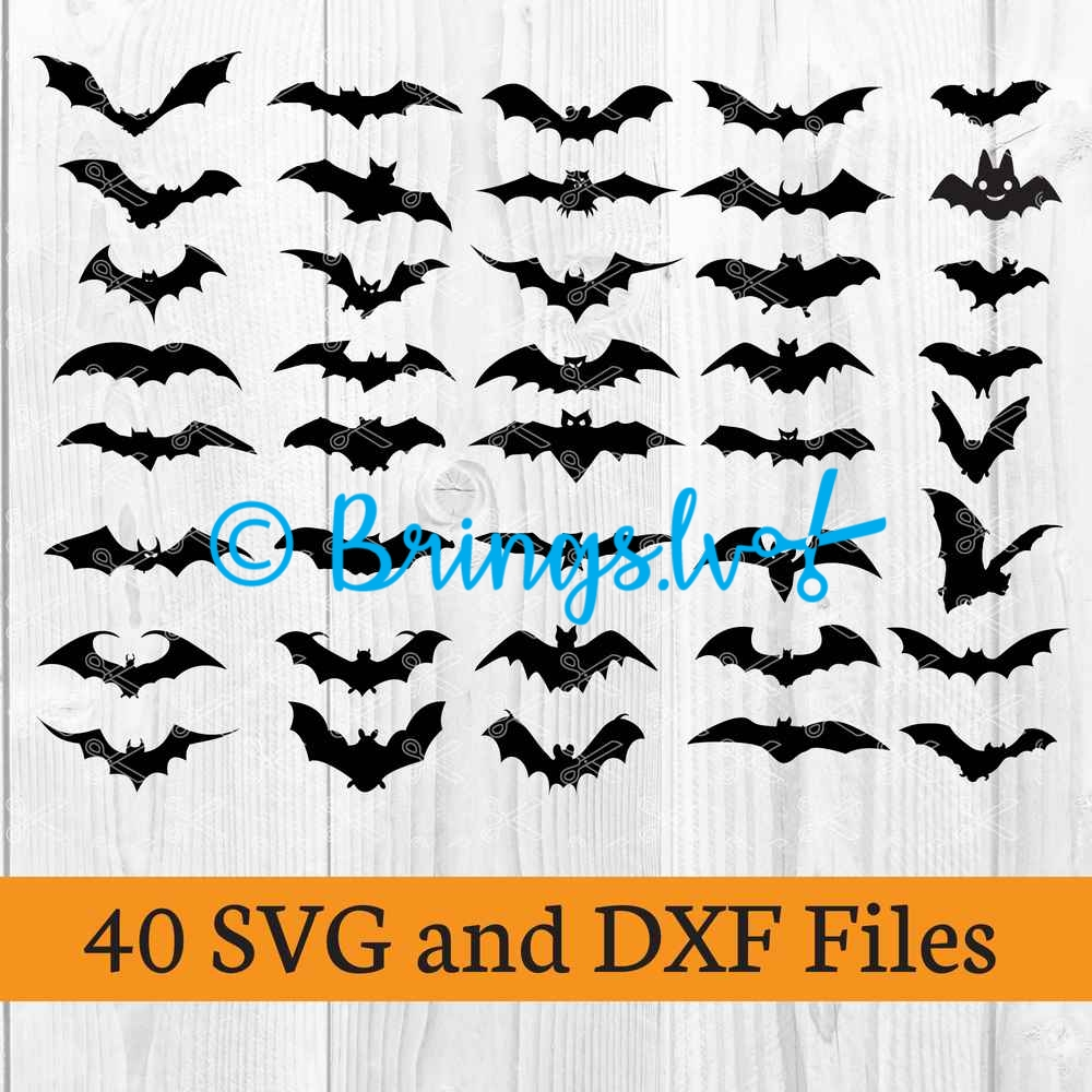 Halloween Bat SVG