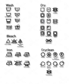 Laundry Washing machine Icons SVG and DXF Cut files