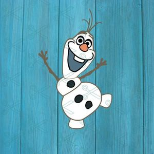 Olaf Disney Frozen SVG and DXF Cut files