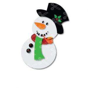 Download Christmas Snowman Clipart SVG and DXF Cut files and use it to your DIY project!