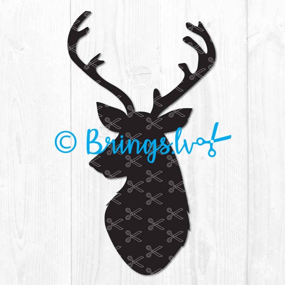 Deer SVG Cut File
