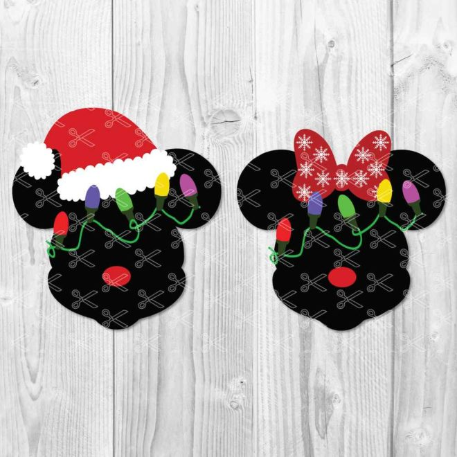 Mickey SVG Christmas Svg