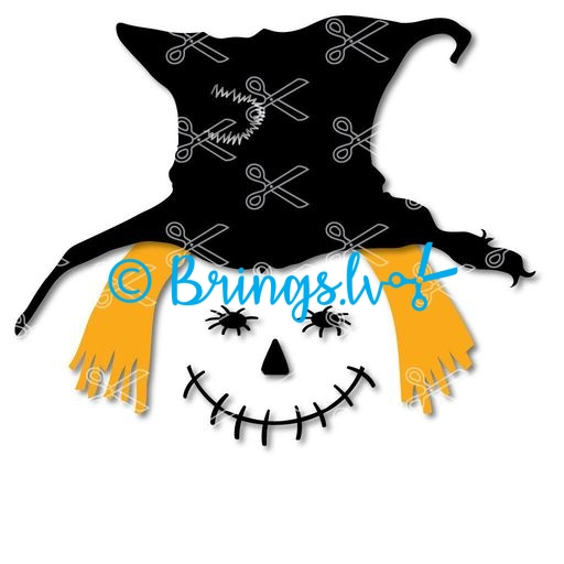 Scarecrow Face Svg And Dxf Cut Files