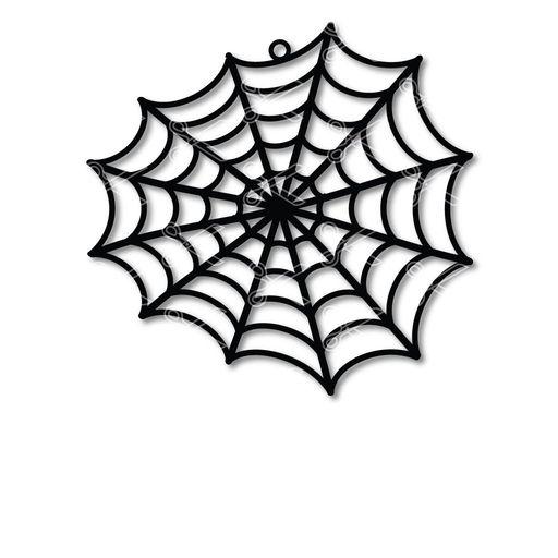 halloween spider web earrings - Spider web Earring SVG DXF