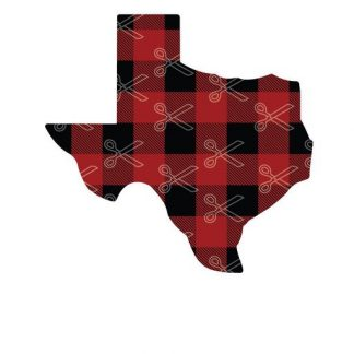 Download Texas map buffalo plaid SVG and DXF Cut files and use it to your DIY project!