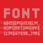 Sweater Font SVG File