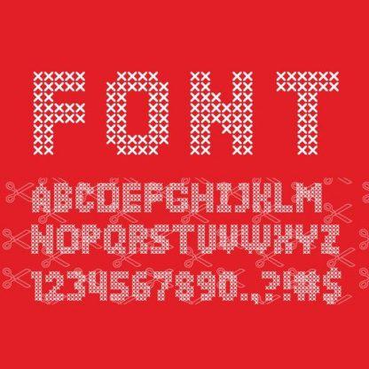 Sweater Font SVG File