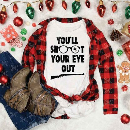You'll shoot your eye out SVG-Cut-File