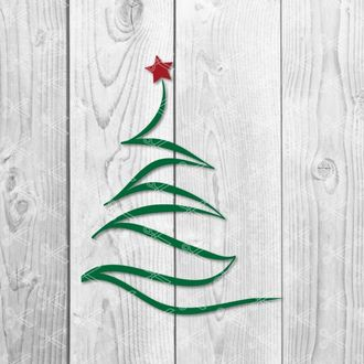 christmas tree svg