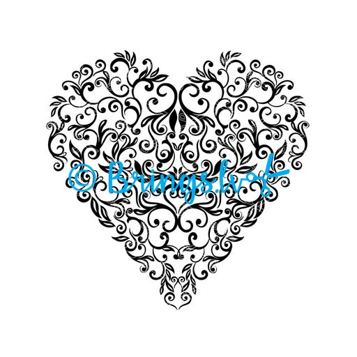 heart svg cut file - Heart SVG and DXF