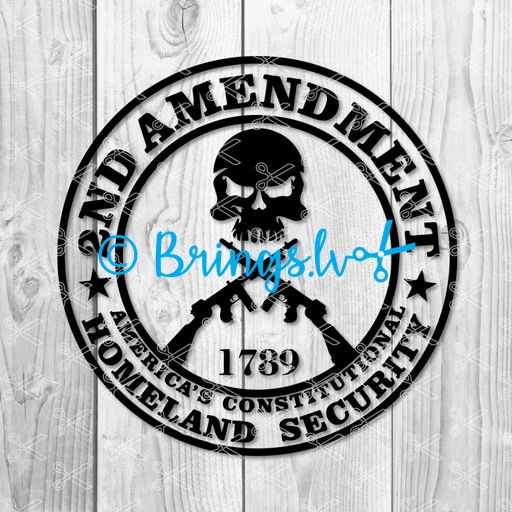 2nd Amendment SVG - Second 2nd Amendment SVG PNG DXF Cut Files