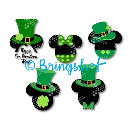Disney Saint Patrick SVG
