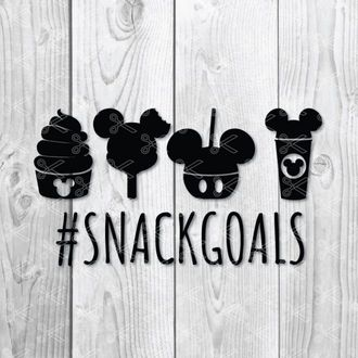 Disney Snack Goals SVG