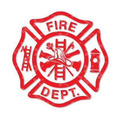 Fire department svg