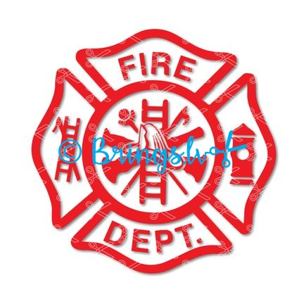 Fire department svg
