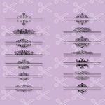 Mailbox Monogram Frame SVG DXF