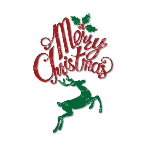 Merry Christmas Svg - Christmas SVG DXF