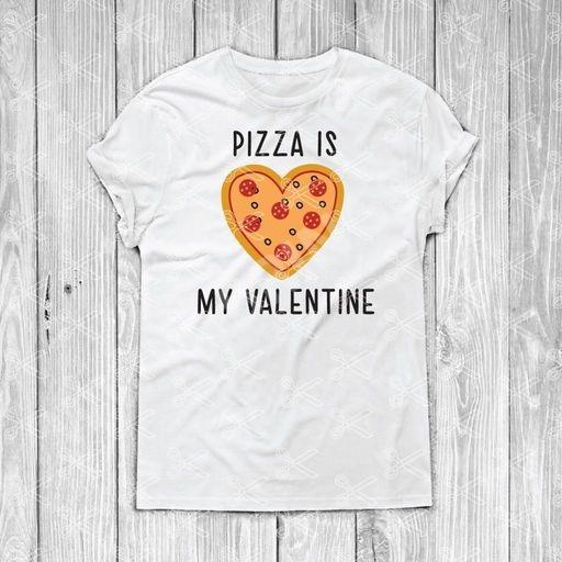 Pizza Is My Valentine svg file - Valentine SVG DXF PNG