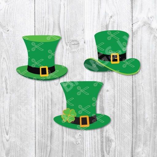 leprechaun hat svg file - St Patricks Day SVG DXF Leprechaun