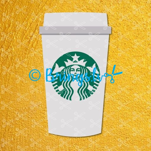 Download Starbucks Coffee Cup Svg Free PNG