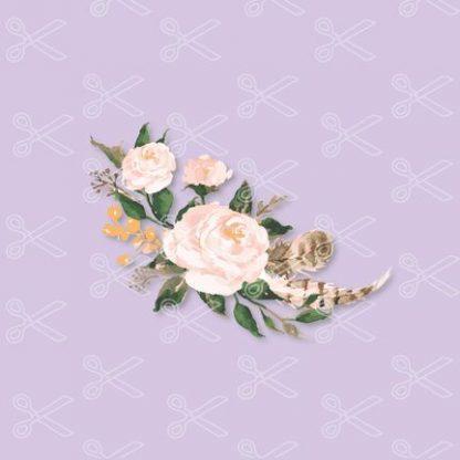 watercolor flower svg