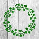 Flowers Wreath SVG