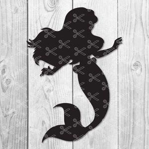 Little Mermaid Svg