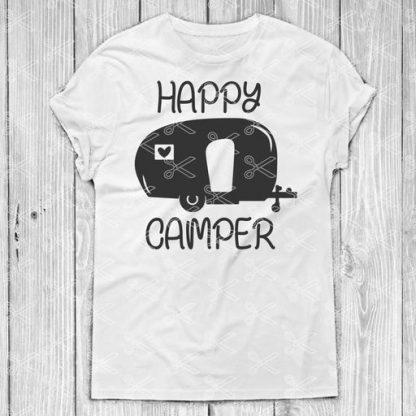happy camper svg