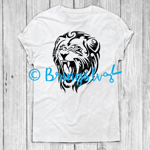 lion svg file