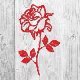 rose svg file