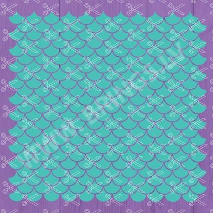 mermaid scales svg file