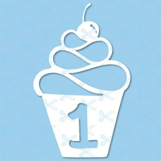 1st birthday svg