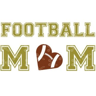 Football Mom SVG