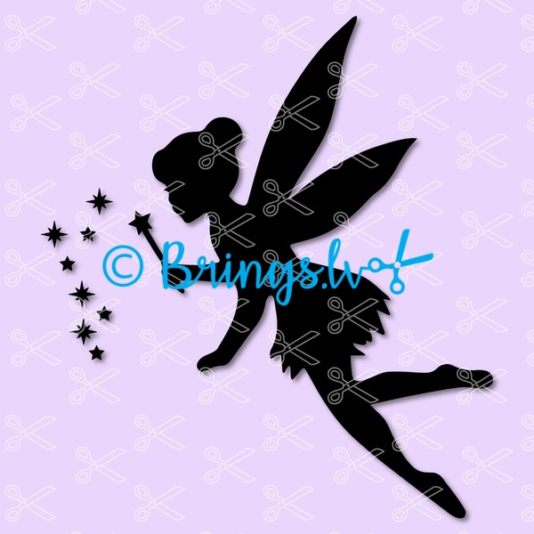fairy tinkerbell svg