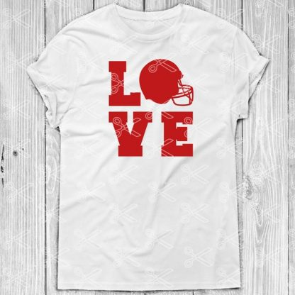 FOOTBALL LOVE SVG