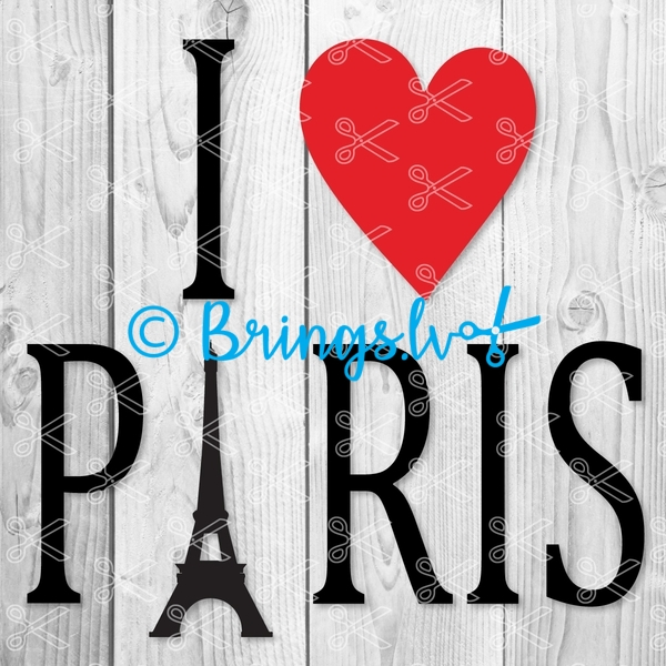 love paris svg