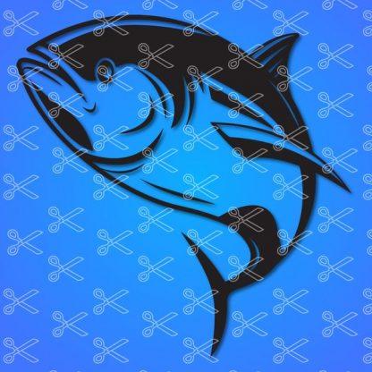 tina fish svg