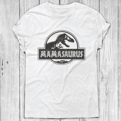 Mamasaurus SVG Cut File