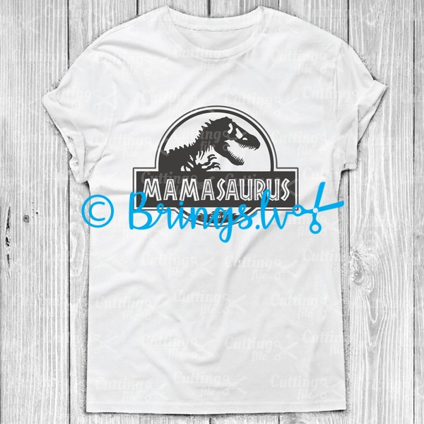 Mamasaurus SVG Cut File