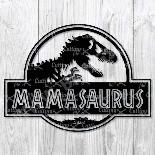 Mamasaurus SVG