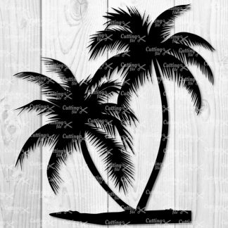 Palm Tree SVG Cut File