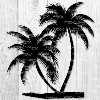 PALM TREE SVG CUT FILE