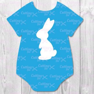 easter bunnie svg