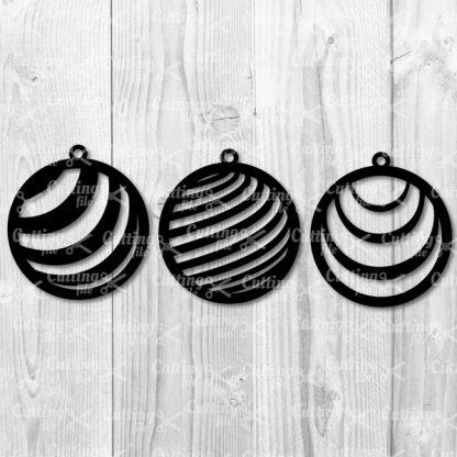 CIRCLE EARRING SVG