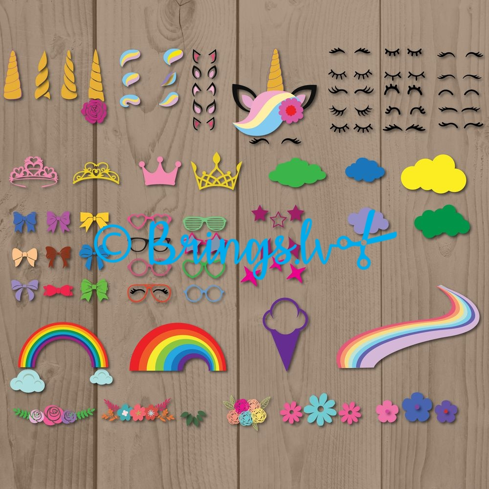 cute unicorn svg