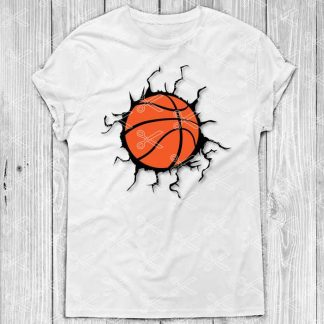Basketball Crack SVG File