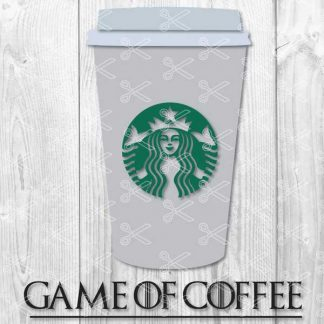 Game of Coffee SVG DXF PNG Cut Files