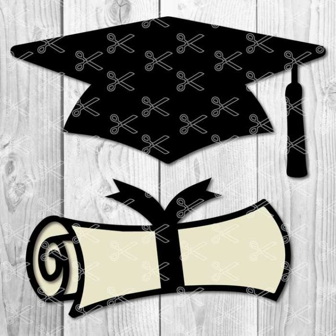Graduation SVG Cut File