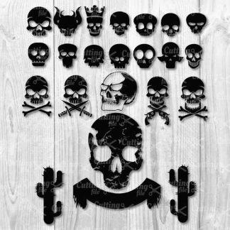skull svg
